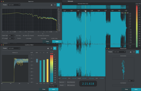 2nd Sense ReSample Audio Editing PluginFox