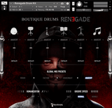 Musical Sampling Boutique Drums Renegade