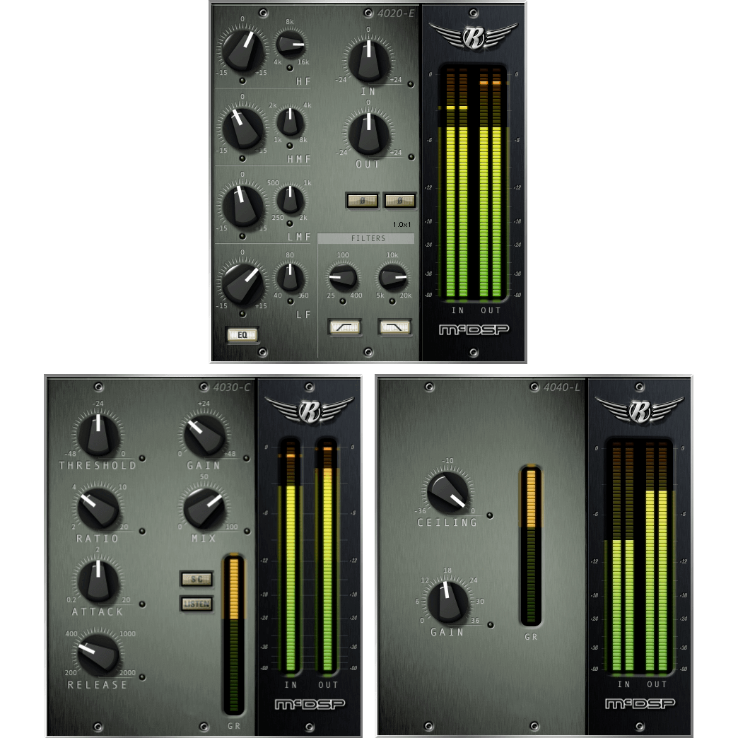 McDSP Retro Pack Native Plugins PluginFox