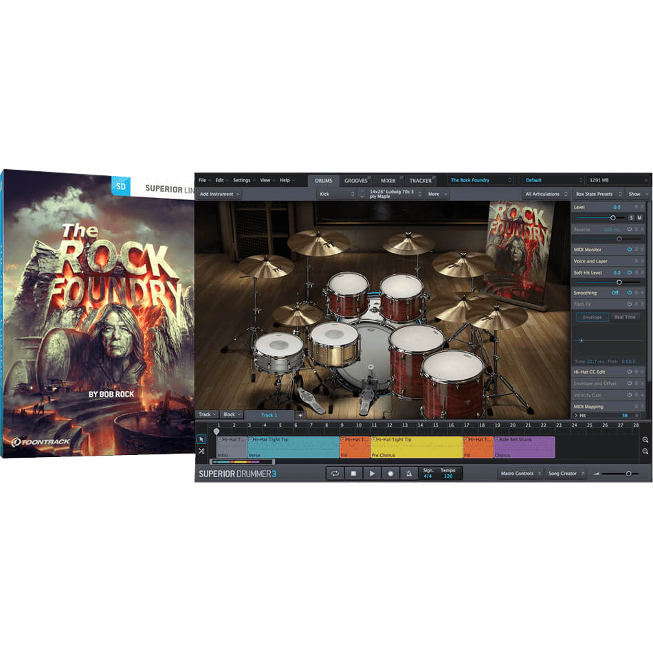 Toontrack SDX: The Rock Foundry - PluginFox