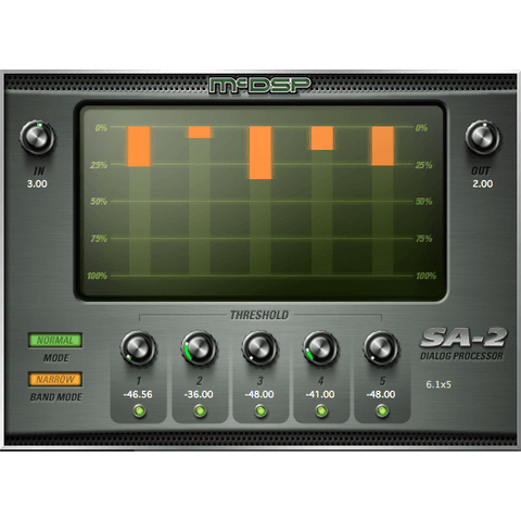 McDSP SA-2 Dialog Processor Native Plugins PluginFox