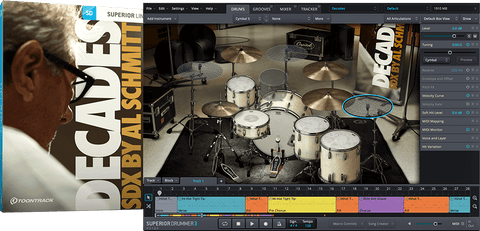 Toontrack SDX: Decades by Al Schmitt