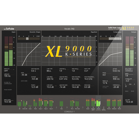 Softube SSL XL9000K Expansion for Console 1
