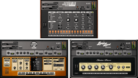 AAS Session Series Bundle Virtual Instruments PluginFox