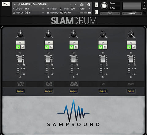 SampSound SlamSnare