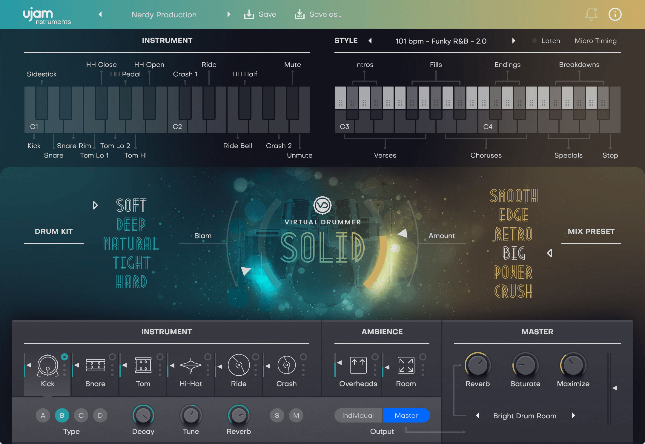 UJAM Virtual Drummer SOLID 2