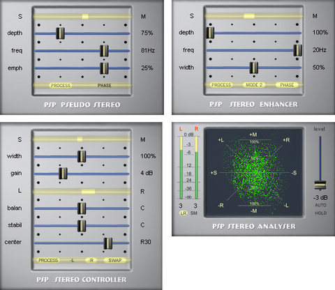 PSP StereoPack Plugins PluginFox