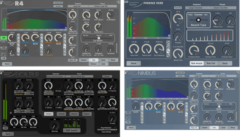 Exponential Audio Stereo Reverb Bundle Plugins PluginFox