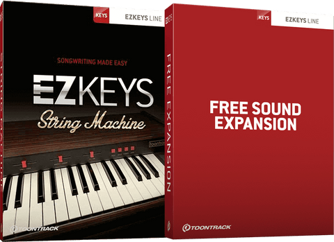 Toontrack EZKeys String Machine + Free Sound Expansion