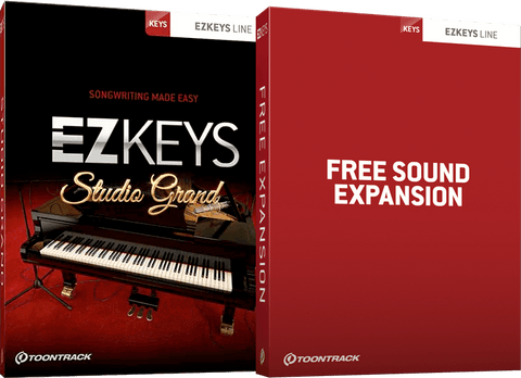 Toontrack EZKeys Studio Grand + Free Sound Expansion