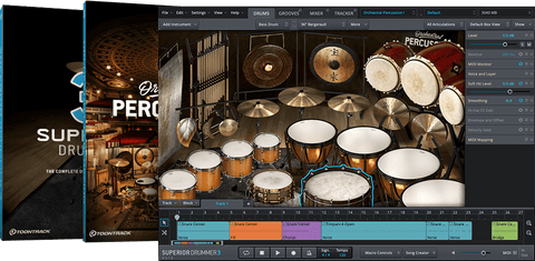 Toontrack Superior Drummer 3 Orchestral Edition