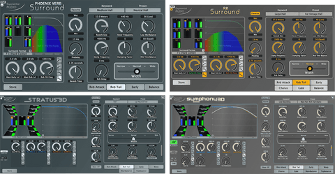 Exponential Audio Surround 3D Reverb Bundle Plugins PluginFox