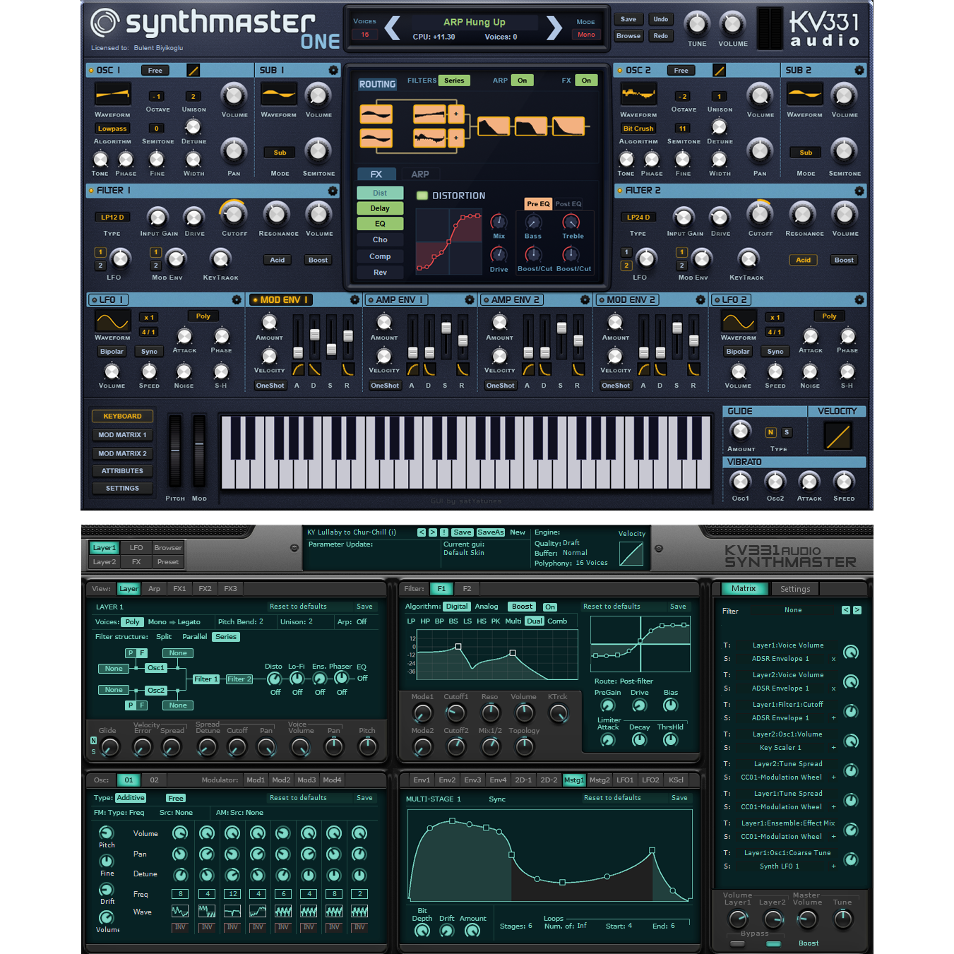 KV331 Audio Synthmaster One & Synthmaster 2 Bundle Virtual Instruments PluginFox