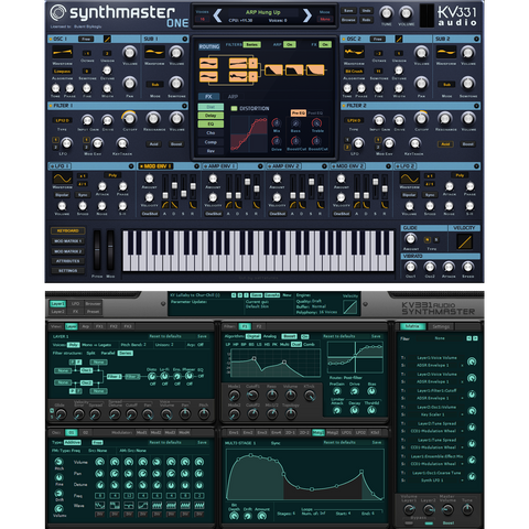 KV331 Audio Synthmaster Everything Bundle Virtual Instruments PluginFox