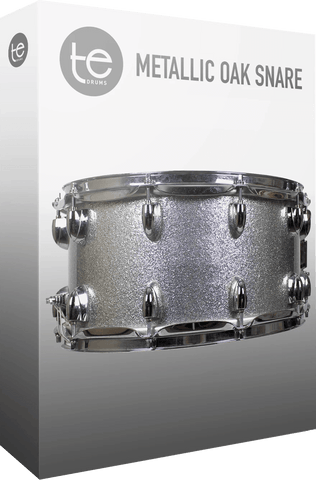 TE Drums Metallic Oak Snare