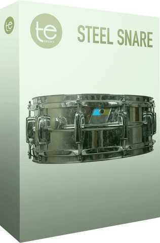 TE Drums Steel Snare