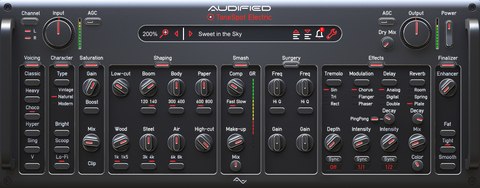 Audified ToneSpot Electric Pro Plugins PluginFox