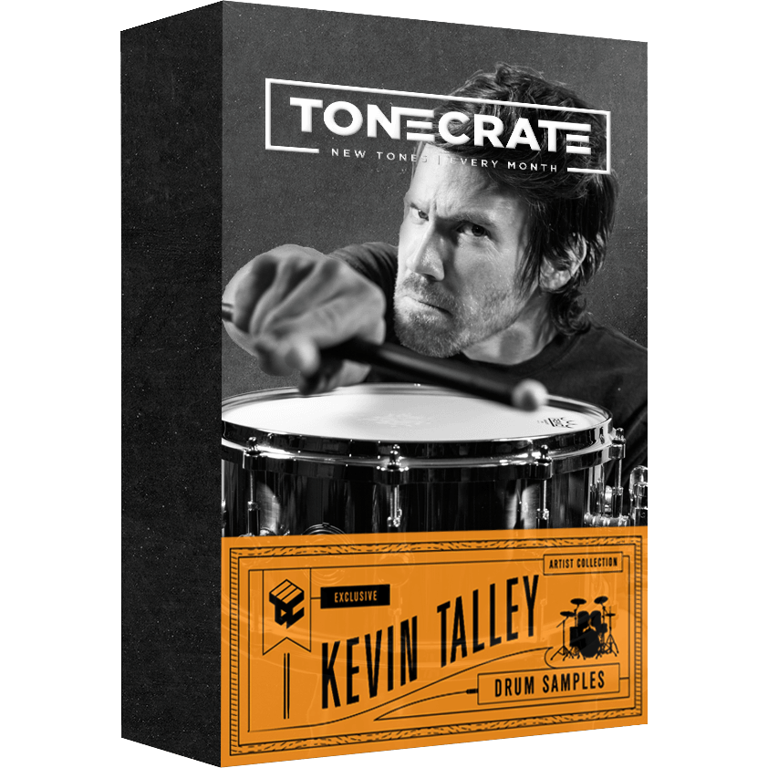 ToneCrate Kevin Talley Signature Drum Samples