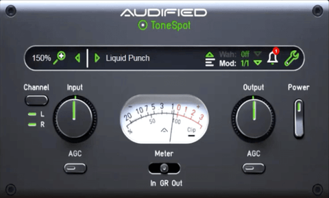 Audified ToneSpot Bass Express Plugins PluginFox