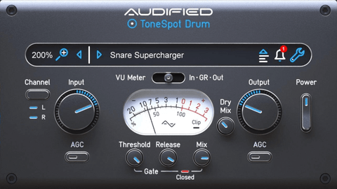 Audified ToneSpot Drum Express Plugins PluginFox