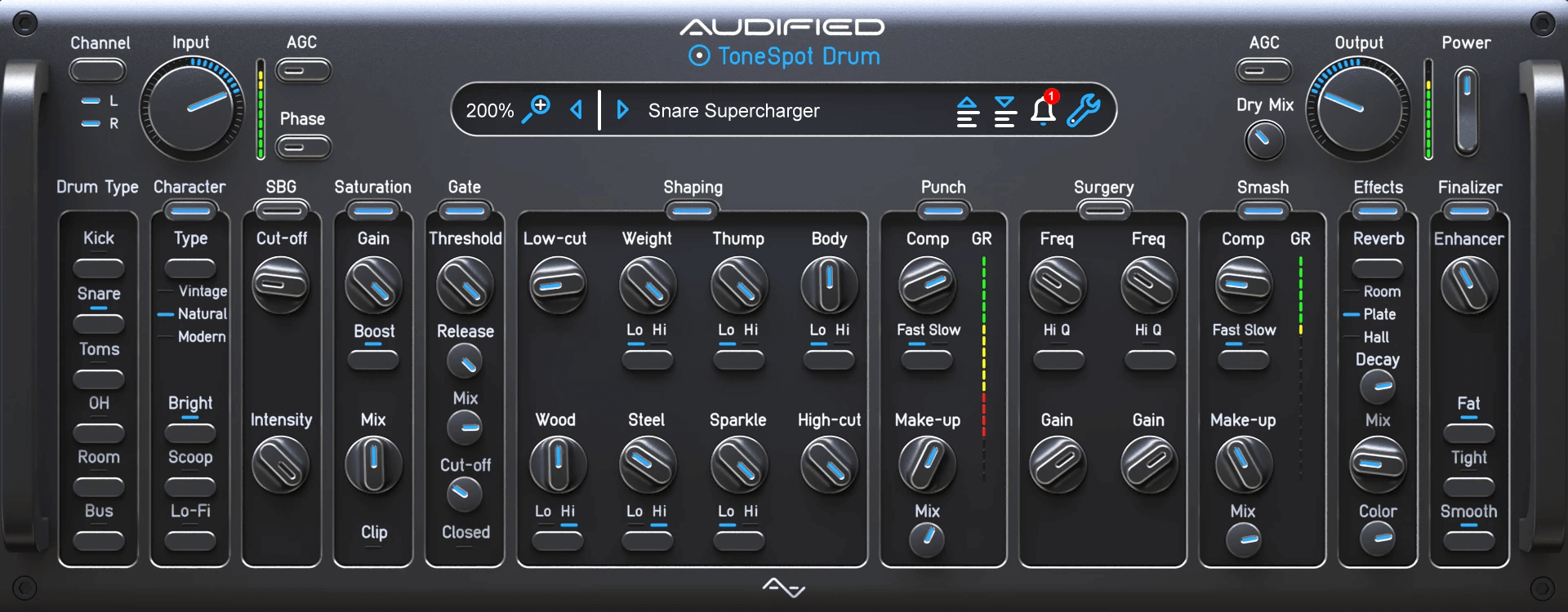 Audified ToneSpot Drum Pro Plugins PluginFox