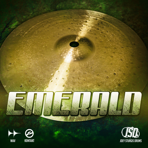 Joey Sturgis Drums Truth Custom Emerald Cymbals Samples PluginFox