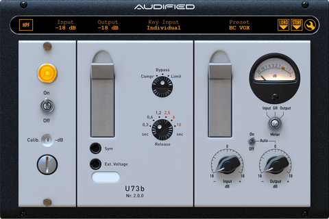 Audified U73b Compressor Plugins PluginFox