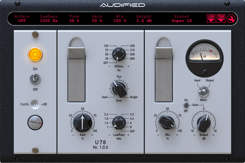 Audified U78 Saturator Plugins PluginFox
