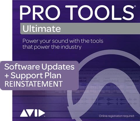AVID Pro Tools Ultimate 1-Year Updates + Support Plan Reinstatement