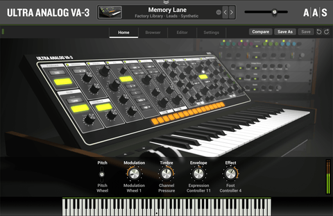 AAS Ultra Analog VA-3 Virtual Instruments PluginFox