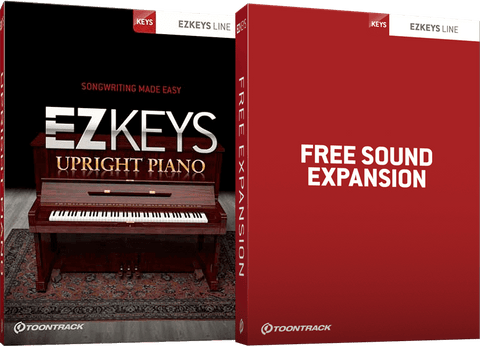 Toontrack EZKeys Upright Piano + Free Sound Expansion