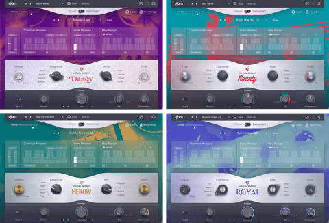 UJAM Virtual Bassists Bundle 2