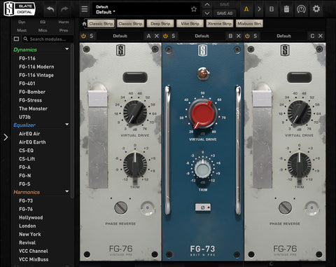Slate Digital Virtual Preamp Collection VPC