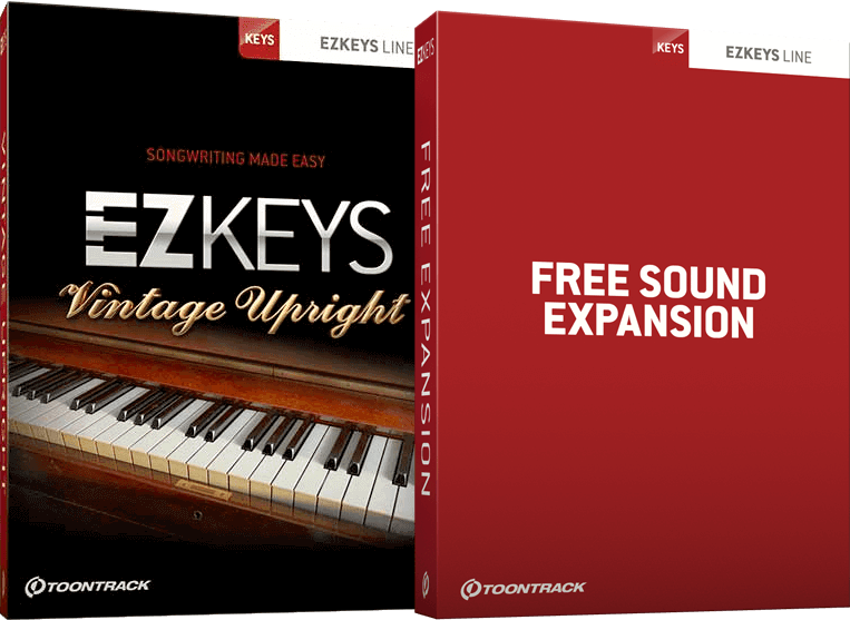 Toontrack EZKeys Vintage Upright + Free Sound Expansion