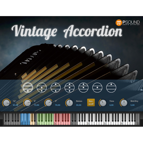 PSound Vintage Accordion Virtual Instruments PluginFox