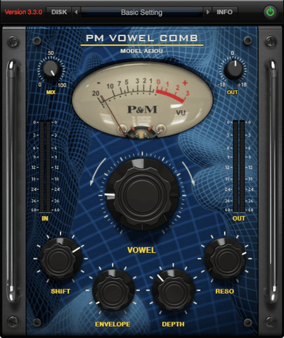 Plug and Mix Vowel Comb