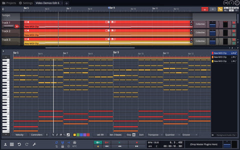 Tracktion Waveform Pro 11 Basic Pack