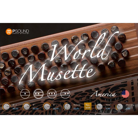 PSound World Musette Virtual Instruments PluginFox