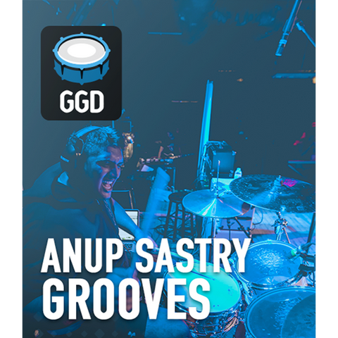 GetGood Drums Anup Sastry Grooves MIDI Pack MIDI Drum Packs PluginFox