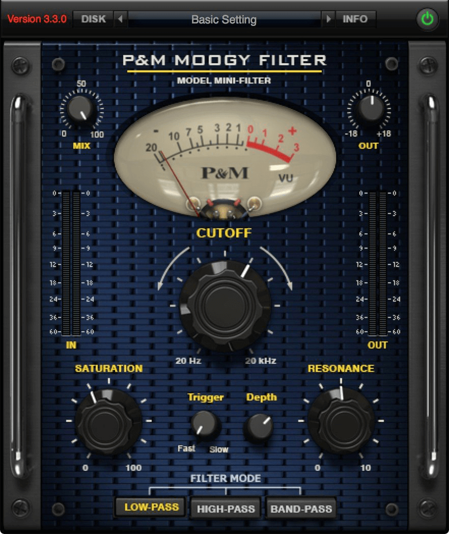 Plug and Mix Moogy Filter