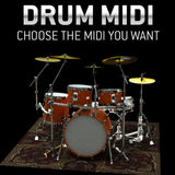 Toontrack Drum MIDI Pack - Your Choice