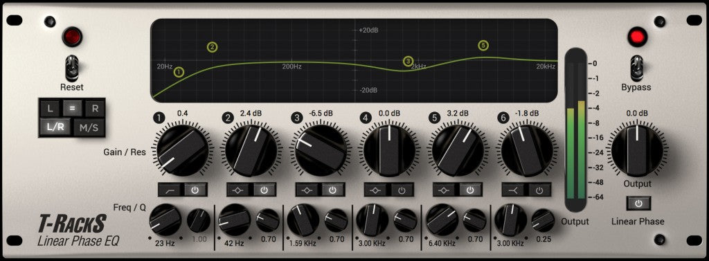 IK Multimedia T-RackS Linear Phase EQ
