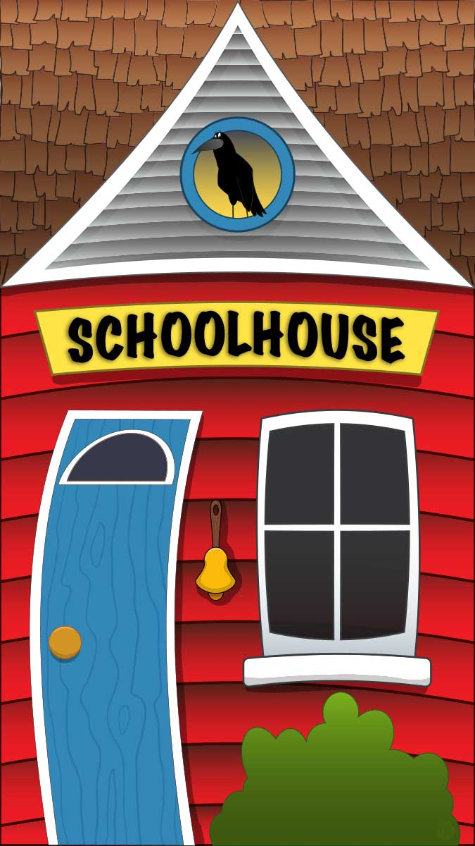 Main Street Mural - School House