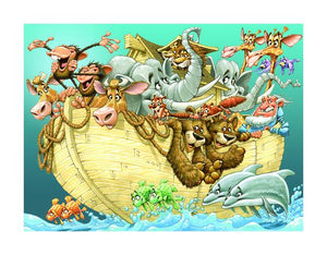 Noah's Ark Print by Dennis Jones