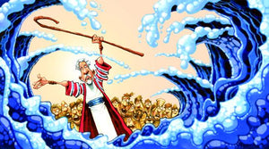 "Moses at the Red Sea by Dennis Jones 41.5"" x 68.5"" Paper Print"