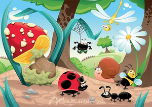 Bugs and Insects Mural