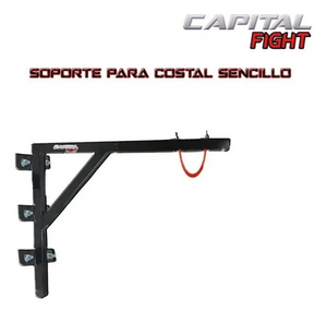 Base de pared en L para costal