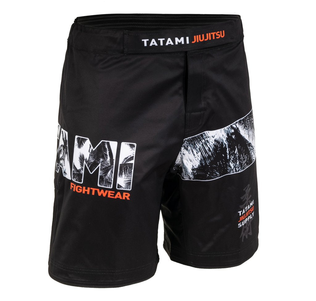 Short Tatami Tropic Black Grappling