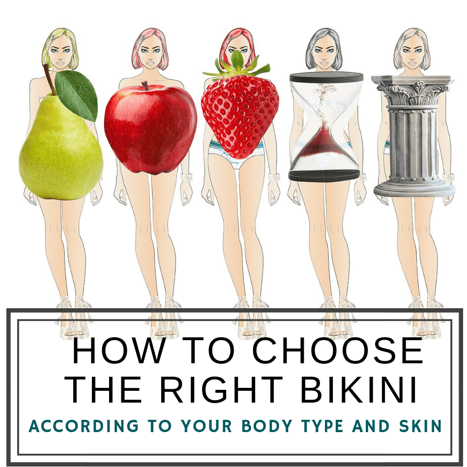 How to choose the right Bikini According to your Body type and Skin? (Nr.1 Online Guide)