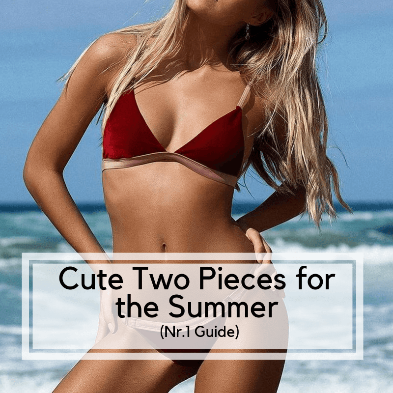 Cute Two Piece Bathing suits for the Summer (Nr.1 Guide)